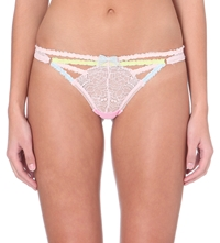 Myla Candy Lace Thong Cupid Pink