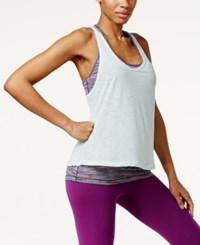 Ideology Layered Racerback Tank Only At Macy's