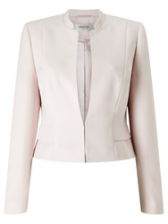 Precis Petite Amelia Cropped Jacket Light Pink