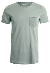 Tom Tailor Denim Basic Tshirt Sea Spray Blue
