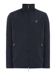 Gant Men's Cotton Blend Mid Length Jacket Navy