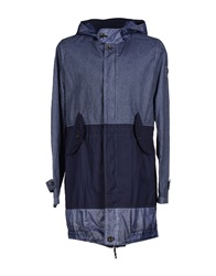 Swiss Chriss Full Length Jackets Slate Blue
