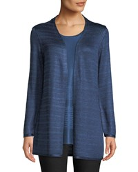 Nic Zoe Free Spirit Hammered Tape Cardigan Mineral