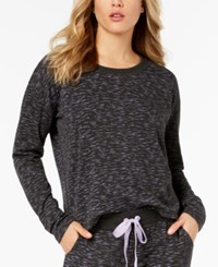 By Jennifer Moore Brushed Back Terry Pajama Top Created For Macy's Space Dye