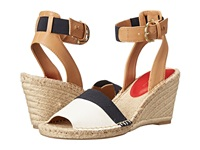 Tommy Hilfiger Hazell White Navy Women's Wedge Shoes