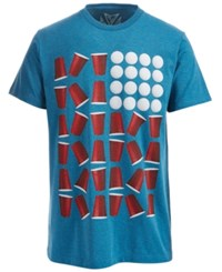 Univibe Beer Pong Graphic Print T Shirt Skd