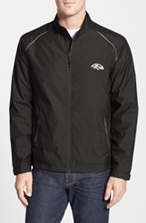 Cutter And Buck Men's Big Tall 'Baltimore Ravens Beacon' Weathertec Wind Water Resistant Jacket