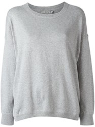 Vince Crew Neck Sweatshirt Grey