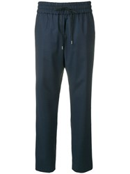 Odeeh Elasticated Trousers Blue