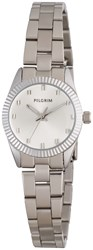 Pilgrim Silver Plated Watch Silver