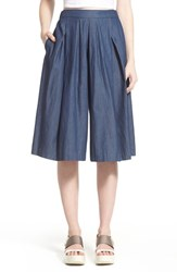 Women's Astr Chambray Culottes