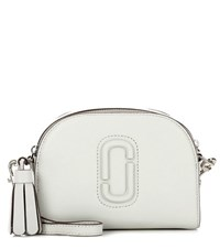 Marc Jacobs Shutter Small Leather Crossbody Bag White