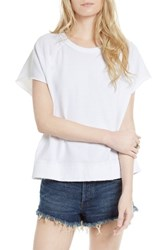 Free People Women's Short Sleeve Pullover White