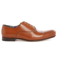 Paul And Joe Bel Air Cognac Leather Oxfords