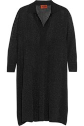Missoni Oversized Metallic Knitted Tunic Black