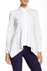 Zac Posen Dyna Blouse White