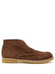 Harry's Of London Joshua Suede Boots Brown