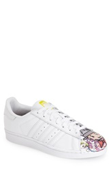 Adidas 'Superstar Pharrell Supershell' Sneaker Men White White Art