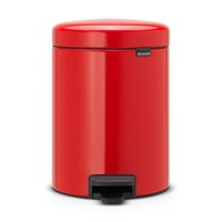 Brabantia Newicon Pedal Bin 5 Litres Passion Red