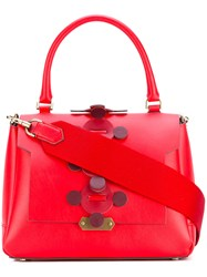 Anya Hindmarch Small 'Bathurst' Satchel Women Leather One Size Red