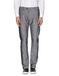 Officina 36 Trousers Casual Trousers Men Black