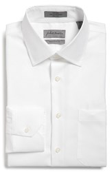 Men's Big And Tall John W. Nordstrom Traditional Fit Non Iron Solid Dress Shirt White