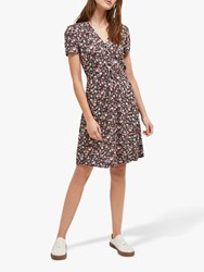 French Connection Fauna Meadow Dress Black Multi
