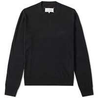 Maison Martin Margiela 14 Elbow Patch Crew Knit Black