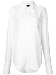 Josh Goot Longsleeved Shirt White