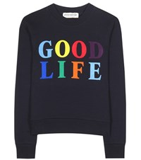 Etre Cecile Cotton Sweatshirt Blue
