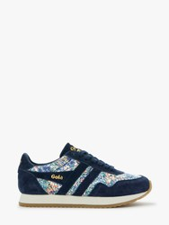Gola Spirit Liberty Lace Up Trainers Garden Print
