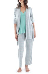 Women's Everly Grey 'Roxanne During And After' 4 Piece Maternity Sleepwear Set