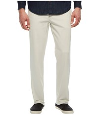Nautica Classic Fit Stretch Deck Pants Stone Casual Pants White