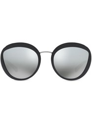 Bulgari Serpenti Round Sunglasses 60