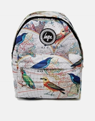 Hype Birds Backpack Beige
