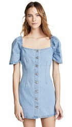 C Meo Collective For The Story Dress Washed Blue