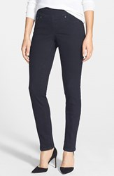 Women's Jag Jeans 'Malia' Pull On Stretch Slim Jeans Black Void