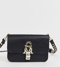 Steve Madden Bnadia Black Cross Body Bag With Stud Detail