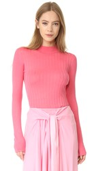 Tome Long Sleeve Sweater Candy Pink