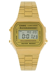 Casio A168wg 9Ef Gold Plated Digital Watch