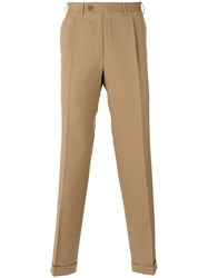 Canali Classic Chinos Brown