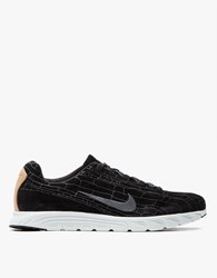 Nike Mayfly Leather Premium In Dark Grey Linen