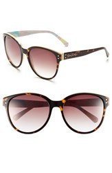 Women's Lilly Pulitzer 'Atwood' 58Mm Sunglasses Tortoise Cream