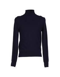 Heritage Knitwear Turtlenecks Men Dark Blue