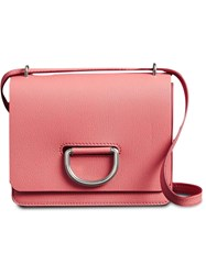 Burberry The Small Leather D Ring Bag Pink And Purple