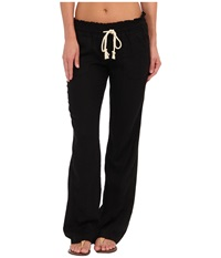 Roxy Ocean Side Pant True Black Women's Casual Pants