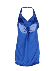 Only 4 Stylish Girls By Patrizia Pepe Tops Bright Blue