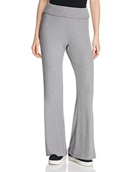 Three Dots Thia Rib Flare Sweatpants Granite