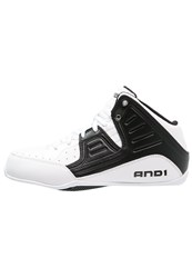 And 1 And1 Rocket 4 Basketball Shoes White Black