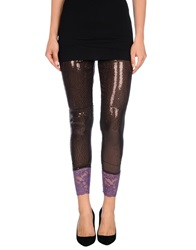 Custo Barcelona Leggings Dark Brown